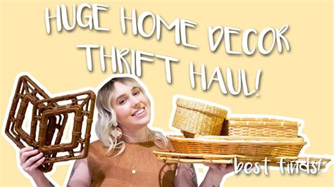 The russell home for atypical children, inc., orlando, fl. HUGE Thrift Haul: Home Decor Edition // I went to SIX ...