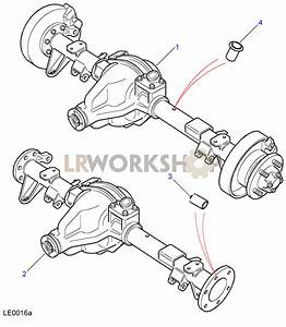 Rear Axle Assembly - Salisbury  130