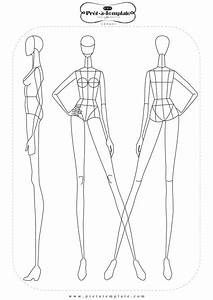 best 25 fashion illustration template ideas on pinterest With fashion designer drawing template