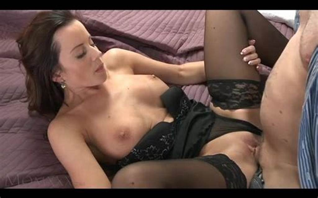 #Black #Haired #Milf #Enjoying #The #Orgasm #That #She #Gets #From