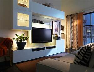 Bild Mit Led Hintergrundbeleuchtung : wohnwand best mit led spots bild 4 sch ner wohnen ~ Bigdaddyawards.com Haus und Dekorationen