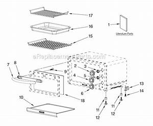 Kitchenaid Kco1005ob0 Parts List And Diagram