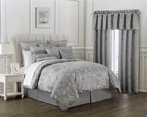 Samantha, Platinum, By, Waterford, Luxury, Bedding