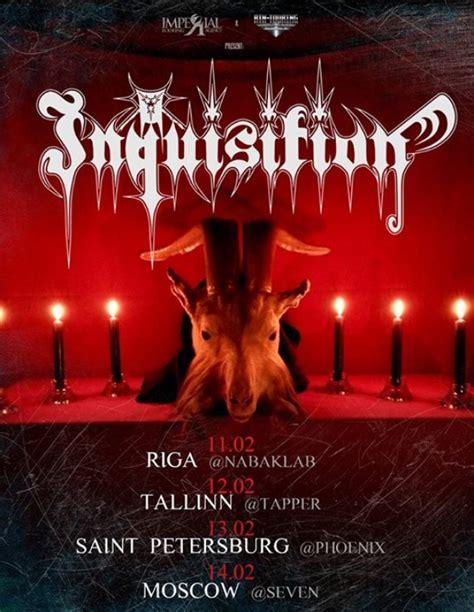 INQUISITION: black metal duets ierodas Rīgā 11. februārī ...