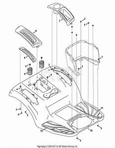 Troy Bilt 13aaa1kt066 Tb2246  2015  Parts Diagram For Fender
