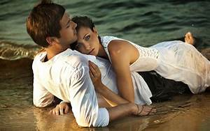 Love Couple On Beach Best Image Hd Wallpapers Of Love Couple Free : Wallpapers13.com