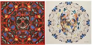 Damien Hirst Art Butterfly