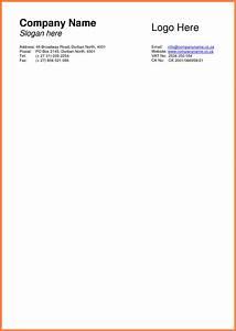 What Is A Personal Letterhead 9 Basic Letterhead Template Company Letterhead