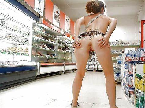 Cleavage No Skirt In Supermarket Best Revealing Walmart Shoppers