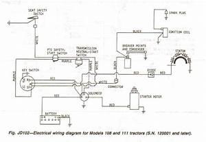 John Deere 111 Wiring