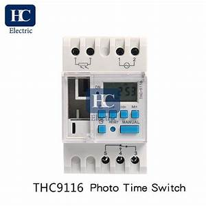 Weekly Digital Time Switch With Photocell Lighting Control