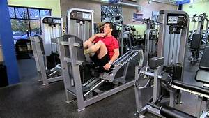 Life Fitness Pro2 Seated Leg Press Instructions