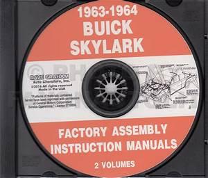 1963 Buick Special  Deluxe  Skylark Repair Shop Manual Original