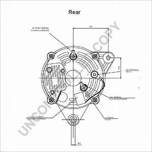 Perkins 4 108 High Output Alternator