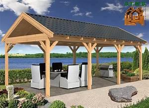 Construire Une Pergola En Bois : construire une pergola en bois construire une pergola en ~ Premium-room.com Idées de Décoration