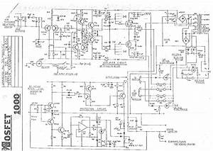 Studiomaster 500 1000 Amplifier Sch Service Manual