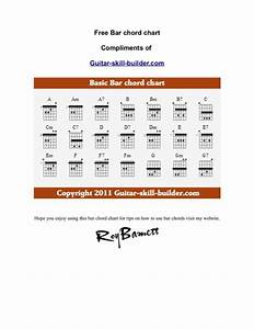 Download Example Basic Guitar Bar Chords Chart For Free