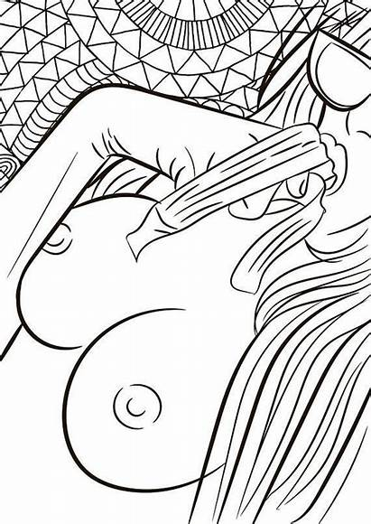 Coloring Pages Quinn Harley Adult Naked Drawings
