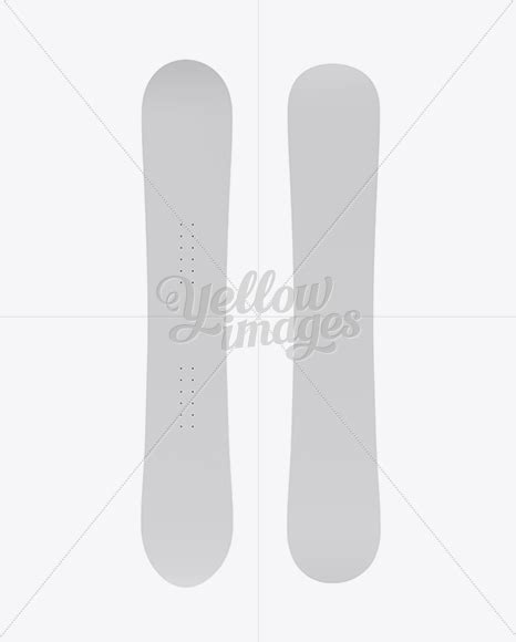 We have an unbelievable collection of free customizable psd mockups at unblast. Download Matte Snowboard Mockup - Front & Back View PSD