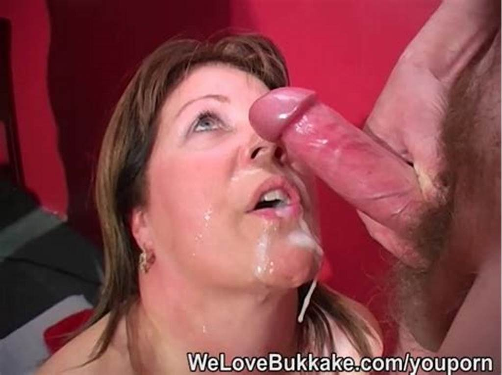 #Shooting #Cumshots #Into #Mature #Womans #Mouth