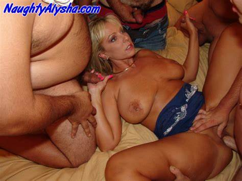 Beautiful Milf Taking By Gangbang Men