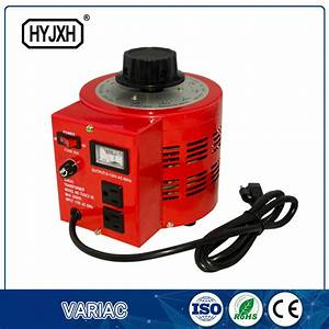 China Three Phase 2kva 220v Input Manual Digital Variac