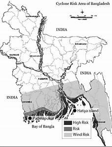 Cyclone Risk Zone  Ref  Disaster Management Bureau Of Bangladesh  10