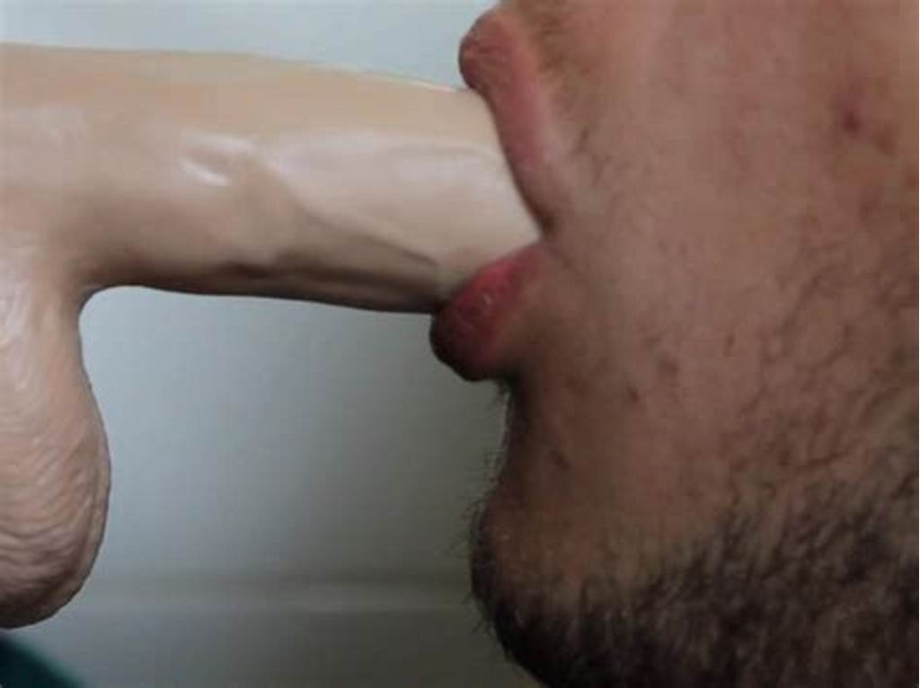 #Guy #Deep #Throat #A #Sex #Toy