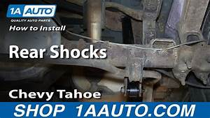 How To Install Replace Rear Shocks 1995