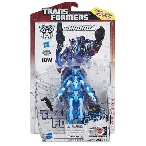 Transformers chromia windblade transformersfanart transformersmovie arceetransformers arcee elita1 fembot femme. Transformers Generations Deluxe Chromia 2014 Thrilling 30 ...