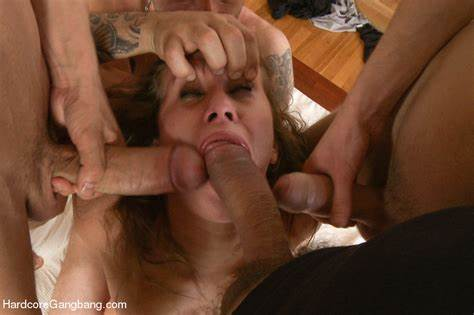 Married Gangbang Dominates A Thick Student Bitch