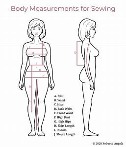 Learn-to-sew  Taking Accurate Body Measurements