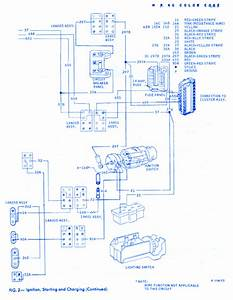 Ford Thunderbird 1967 Electrical Circuit Wiring Diagram