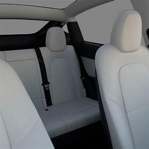 Tesla Model Y Black with interior - Blender Market