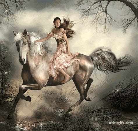 Most of the times, the height and the length of the material don't match with your windows and doors. girl riding a horse Graphics, Comments and Images for ...