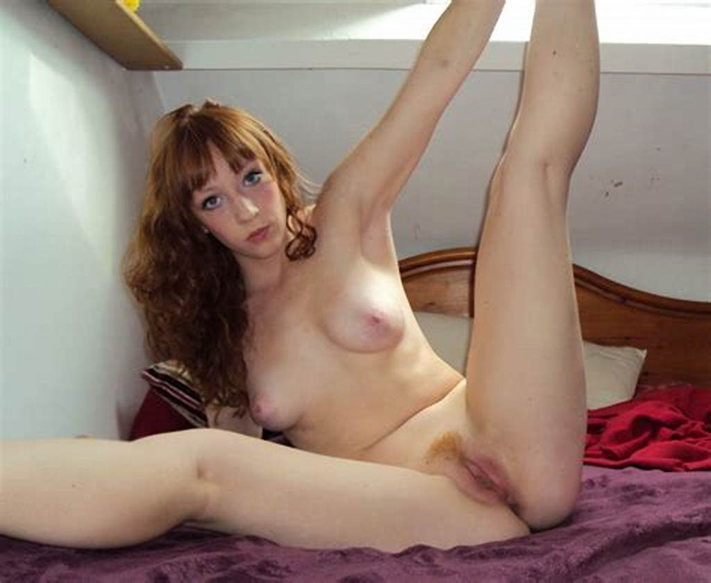 #Redhead #Amateur #Teen #Posing #Naked #At #Home