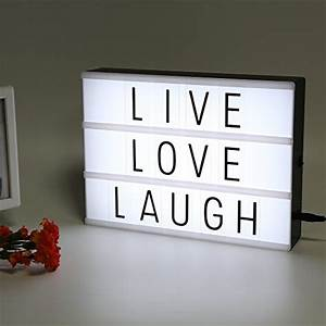 Lampe Mit Buchstaben : leuchtkasten test vergleich top 25 ~ Watch28wear.com Haus und Dekorationen