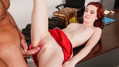 Red Haired With Fat Butts Shows Off Her Sweet Bodies