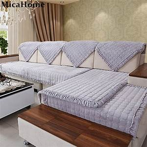 aliexpresscom buy flannel decorative sofa cover With buy sectional sofa cover