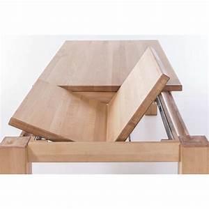 Esstisch Massivholz Günstig : esstisch mit gestellauszug lissy aus massivholz von elfo ~ Watch28wear.com Haus und Dekorationen