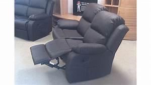 Sofa Mit Relaxfunktion : sofa rax 2 sitzer couch in lederlook braun mit relaxfunktion ~ A.2002-acura-tl-radio.info Haus und Dekorationen