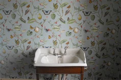 foto de Papier peint vintage à motifs floraux en 25 idées fantastiques