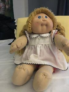 1985 Vintage Cabbage Patch Kids Blond Girl Baby Doll with