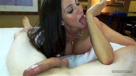 Lick Porn And Facialed Boyfriend Step Mommy