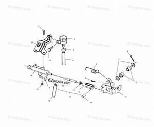 Polaris Atv 2000 Oem Parts Diagram For Rear Brake Master