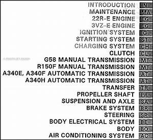 1995 Toyota 4runner Repair Shop Manual 2 Volume Set Original