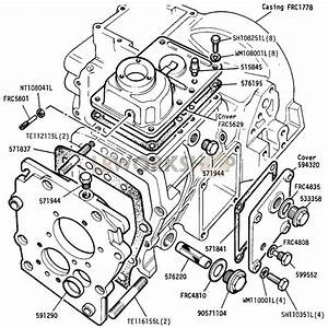 Main And Transfer Casing  Front Portion  - 109in V8
