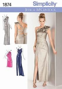 Simplicity 1874 misses39 dresses for Patron de robe de mariée