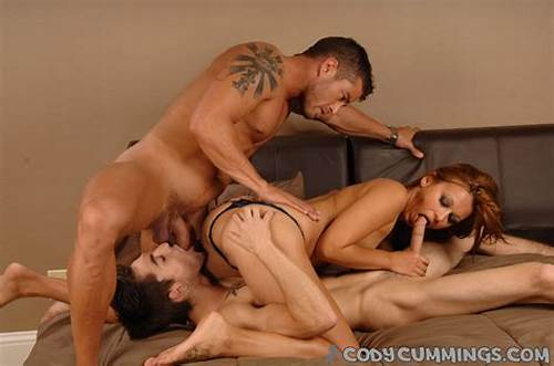 Hard Threesome With Cody