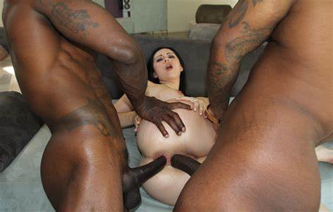 Double Penetrated Caucasian Mature
